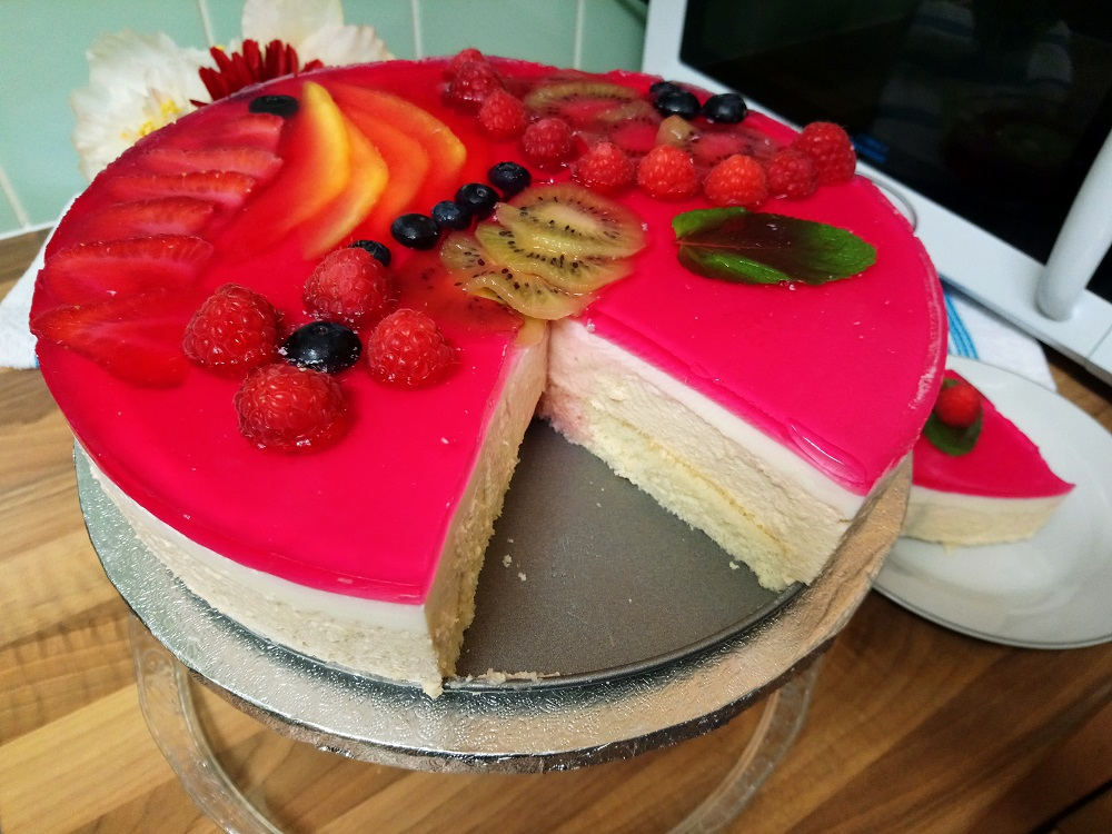 How to Bake Mango Mousse Cake?