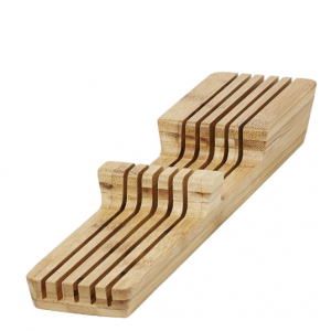 GoodHome Nitaki Bamboo Knife block