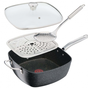 TEFAL Titanium Excel 28 cm Non-stick All-in-One Pan - Black